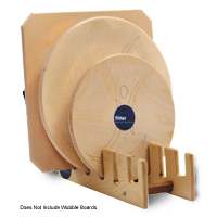 Wobble Board Rack - Timber