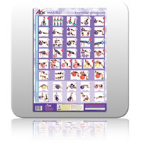 mediBall Wall Chart - (A2 Celoglazed)